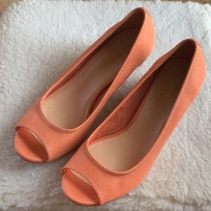 Cole Haan Nike Air Peep Toe Shoes size 10B